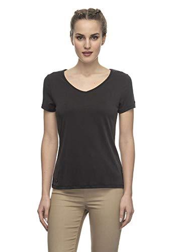 Ragwear T-Shirt Damen T-Shirt Gale 2021-10008 Schwarz Black 1010, Größe:S