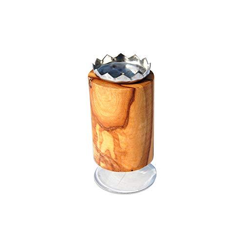 D.O.M.® Magnetseifenhalter PISA aus Olivenholz