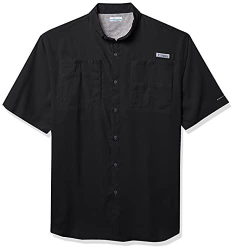 Columbia Sportswear Tamiami II Short Sleeve Shirt, Large, Black