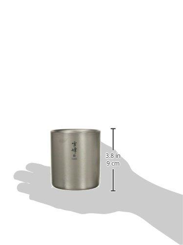 スノーピークスタッキングマグ『雪峰H450(TW-122)』