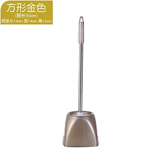 Walizh Les Toilettes Creative Japonais Brosse De Nettoyage avec Stand Accueil Brosse WC Long Manche Non Niches Brosse WC Assis Ronde Greeny13-Dj3642106853