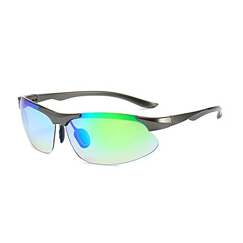 LWZ Gafas de sol unisex, gafas de sol con personalidad elegante, gafas de ciclismo para deportes al aire libre, 1