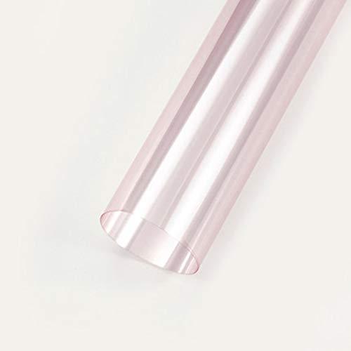 Zhou-WD 60 * 60CM 10st gekleurd cellofaan, transparant Waterdicht Decoratief papier Carnation Boeket van de tulp inpakpapier origami (Color : 3, Size : 60 * 60CM)