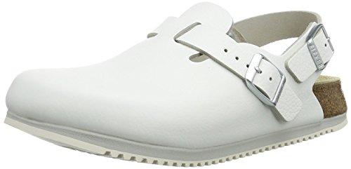 BIRKENSTOCK Professional Tokio Unisex-Erwachsene Clogs, Weiß (Weiss), 46 Normal