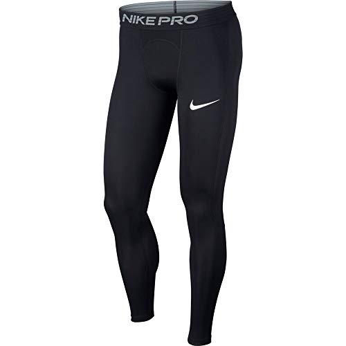 Nike Herren Pro Tights, Black/White, 2XL