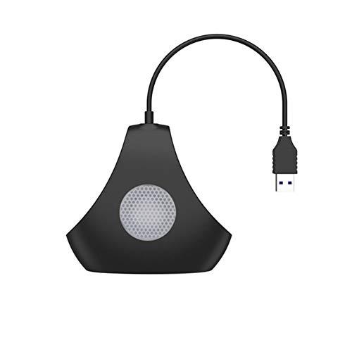 Spachy USB 3.0 Hub 4-Port Data Hub Hochgeschwindigkeitskompatibel für Mac-Book Air, Mac-Mini, iMac-Pro, Microsoft-Surface und Ultrabooks