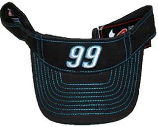 Motorsport Authentics Carl Edwards #99 Trackside Visor Black