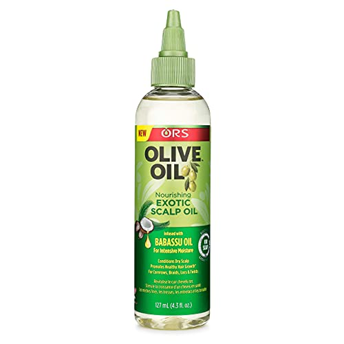 Ors Olive Oil Nourishing Exotic Scalp Oil with Babassu Oil
