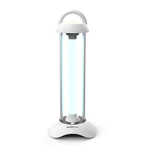 Uv-desinfecterende lamp, draagbaar mobiele uv-ziektekiemdodende lamp, de sterilisatiegraad bedraagt 99,99%, wat geschikt is voor gezinnen, kinderdagverblijven, dierbehandelingen en ziekenhuizen.