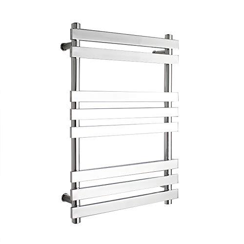 YOGANHJAT Toallero eléctrico Pared 8 Bars Soporte 67W Warm Seca Toallas Radiador...