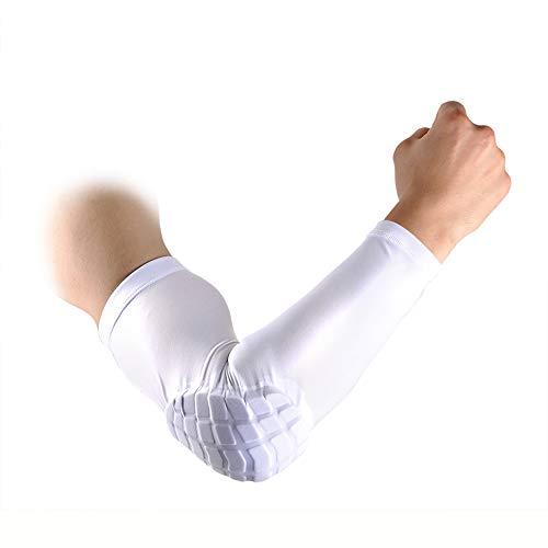 2 Pcs Shield Shape Crash Proof Elbow Pads Arm Sleeve Pads Brace Protector Gear