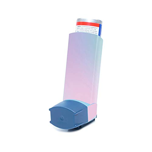 MightySkins Skin for Ventolin HFA Asthma Inhaler - Cotton Candy | Protective, Durable, and Unique Vinyl Decal wrap Cover | Easy to Apply, Remove, and Change Styles | Made in The USA