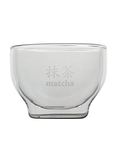 DOCTOR KING Artisan Glass Matcha Bowl | Chawan | Perfect for Preparing and Serving Matcha Green Tea | with Presentation Box