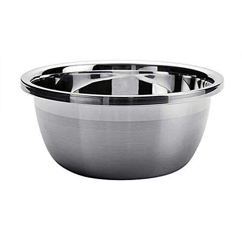 Mixing bowls, thick non-slip bowl, multifunctional mixing bowl, salad bowl, chrome steel mixer, fruit meals container,kitchen utensils