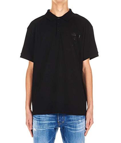 Moschino Luxury Fashion Herren A120220420555 Schwarz Baumwolle Poloshirt   Frühling Sommer 20