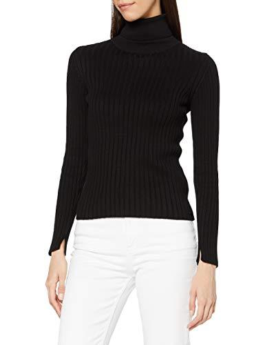Marc O'Polo Damen M09504560195 Pullover, Schwarz (Black, XL