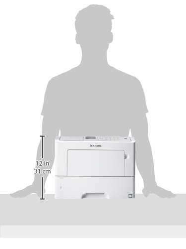 Lexmark MS610dn Monochrome Laser Printer, Network Ready, Duplex Printing and Professional Features Photo #2