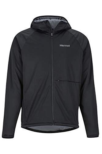 Marmot Herren Softshelljacke Funktions Outdoor Jacke, Wasserabweisend Zenyatta, Black, XL, 81340