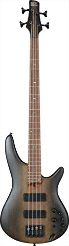 Ibanez SR500E Bass Guitar (Surreal Black Dual Fade)