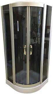 comprar comparacion DUCHA CABINA DE HIDROMASAJE SPA RADIO mod. New York 90 x 90 cm CROMOTERAPIA