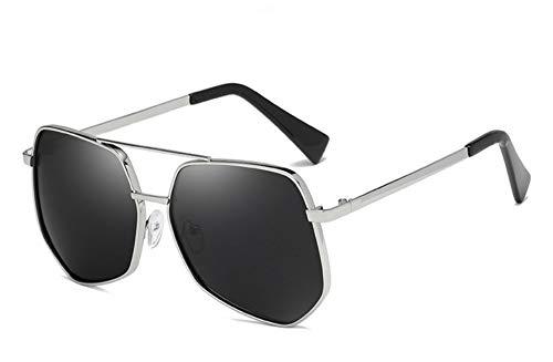 haobanhao Gafas De Sol Polarizadas Clásicas Retro Unisex Protección Uv De Metal...