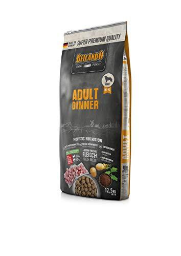 Belcando Adult Dinner Hundefutter | Trockenfutter für Hunde | Alleinfuttermittel für ausgewachsene Hunde Aller Rassen ab 1 Jahr (12,5 kg)