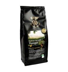 GEPA Bio Café Yungas - Rarität aus Bolivien - Kaffee gemahlen 1 Karton (6 x 250 g) Fair Trade
