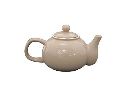 Krasilnikoff - Teekanne - Taupe - Keramik - 1,1 l