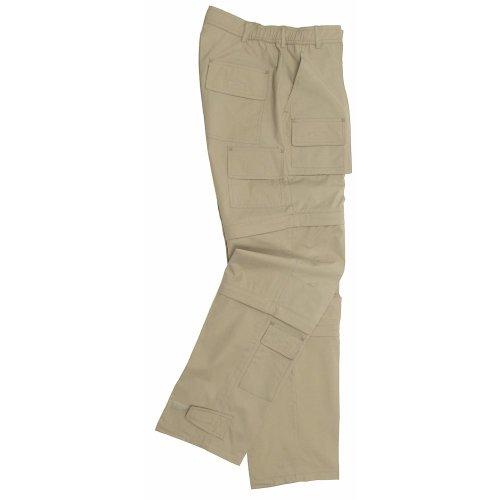 Unbekannt Fox Men's extérieure multifonctionnelle Pantalon Microfibre avec Poches latérales XXL Marron - Kaki