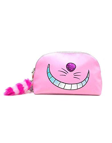 Disney Alice In Wonderland Cheshire Cat Wash Bag Kosmetiktäschchen 30 centimeters Pink