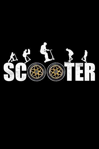Scooter: Der Notizblock für Stuntscooter-Fans und Trickscooter-Fahrer.