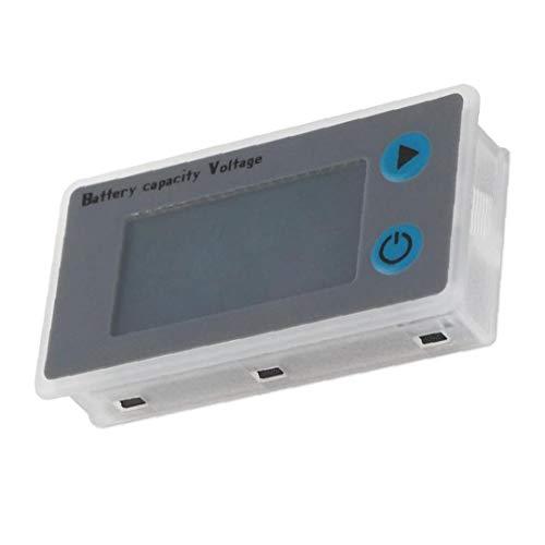 FeelMeet Controlador del Inspector del probador del Voltaje de la batería Capacidad medidor Digital JS-C33 24V de Litio-Hierro de Plomo-ácido baterías de NiMH