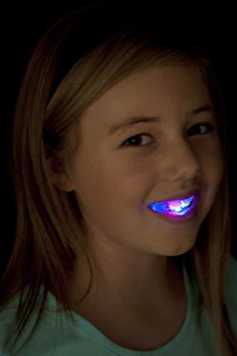 Smiffys Dentier clignotant, avec LED 4 couleurs