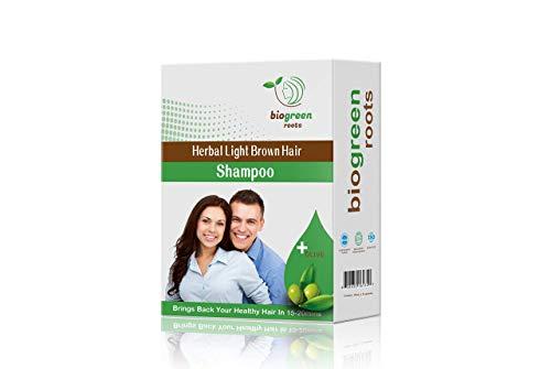 Herbal Light Brown hair Shampoo (Li…