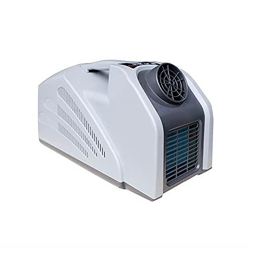 Instalación sin aire acondicionado para exteriores de 180 vatios, enfriador de aire portátil, enfriador evaporativo para espacios pequeños, uso doble para acampar en el hogar, 16-30 ℃