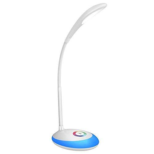 Tischlampe Touch Control LED Augenschutz Tischlampe Einstellbare Leselampen mit Multicolor Nachtlichter XYJGWSTD