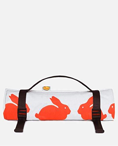 Anorak Picknickdecke, Motiv küssende Kaninchen, Größe L, für 6 Personen