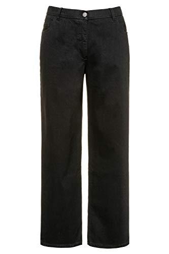 Ulla Popken - Jeans da donna, taglie forti, gamba larga, elasticizzati, taglia 36, 724600, taglia 45-62