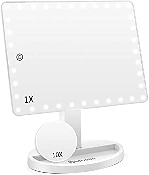 Funtouch Light Up Mirror with 35 LED Lights