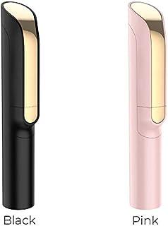 自撮り 棒 セルカ棒 軽量 無線 6段伸縮 折りたたみ 持ち運びに便利 ミニ 一体型設計 コンパクト 自 撮り 棒 iPhone/Android スマホ等対応 ピンク