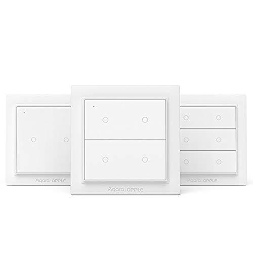 Für Aqara Wireless Smart Wandschalter ohne Verkabelung Arbeit Intelligent Switch Für Apple HomeKit,Six button