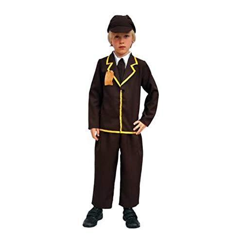 Curriculum - Disfraz de colegial para nio, talla 6-8 aos (KO178M)
