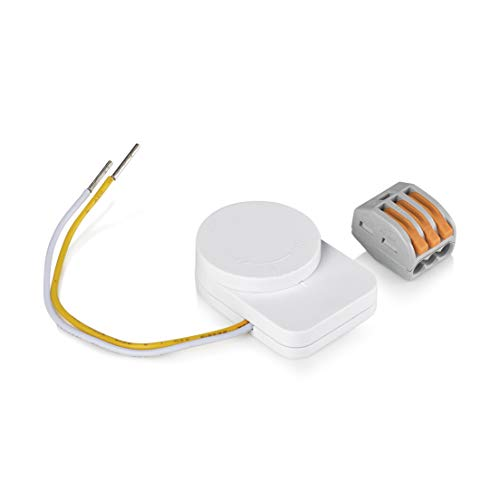Smartwares SH8-90604 Conversor de interruptor de pared, Blanco