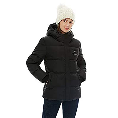 heated coat for women with battery
