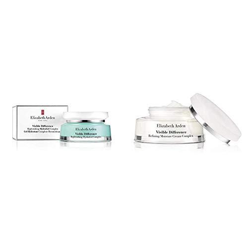 Elizabeth Arden Tagesgel für das Gesicht 1er Pack (1x 75 ml) & Visible Difference hydrating complex cream,1er Pack (1 x 75 ml)