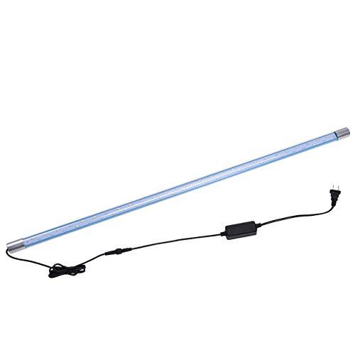 WANGIRL Aquarium Beleuchtung DREI Gänge Ändern Aquarium Licht DREI-Farben-Lichter LED-Taucherleuchten Aquarium Lampe Erhellen Licht Aquarium Zubehör,80cm
