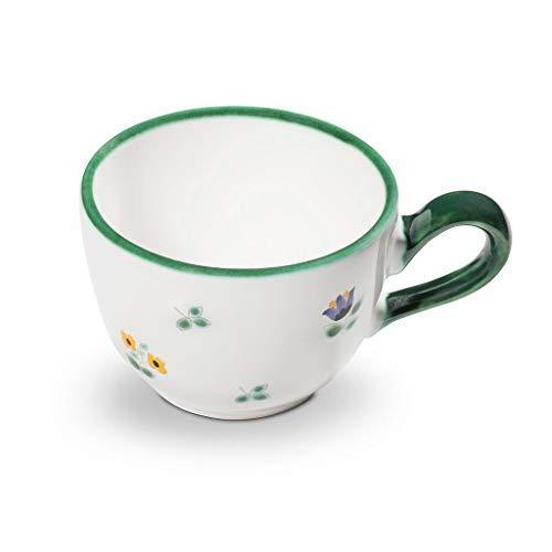 GMUNDNER KERAMIK Kaffeetasse glatt Füllmenge : 0.19 Liter Streublume Geschirr, handgemacht in Österreich
