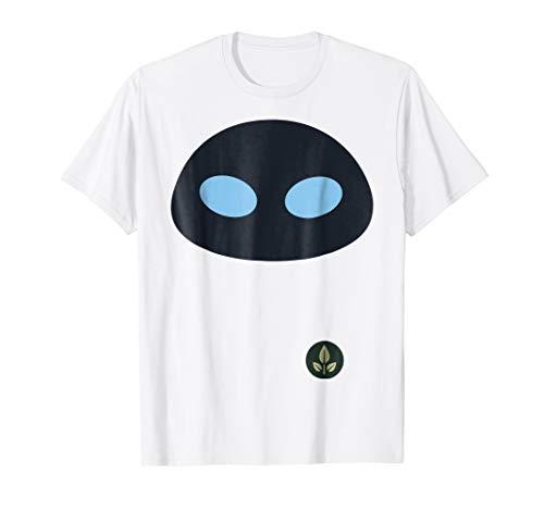 Disney Pixar Wall-E Eve Face Halloween Graphic T-Shirt