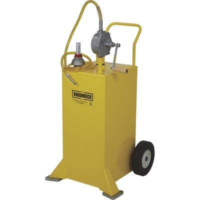 Roughneck UL Listed Diesel Caddy - 30-Gallon, Steel, Yellow