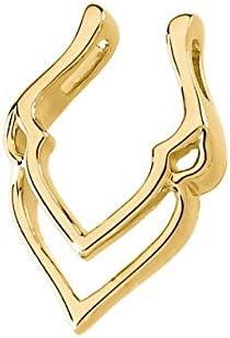 14K Yellow Gold Pendant Enhancer Pendant Enhancer